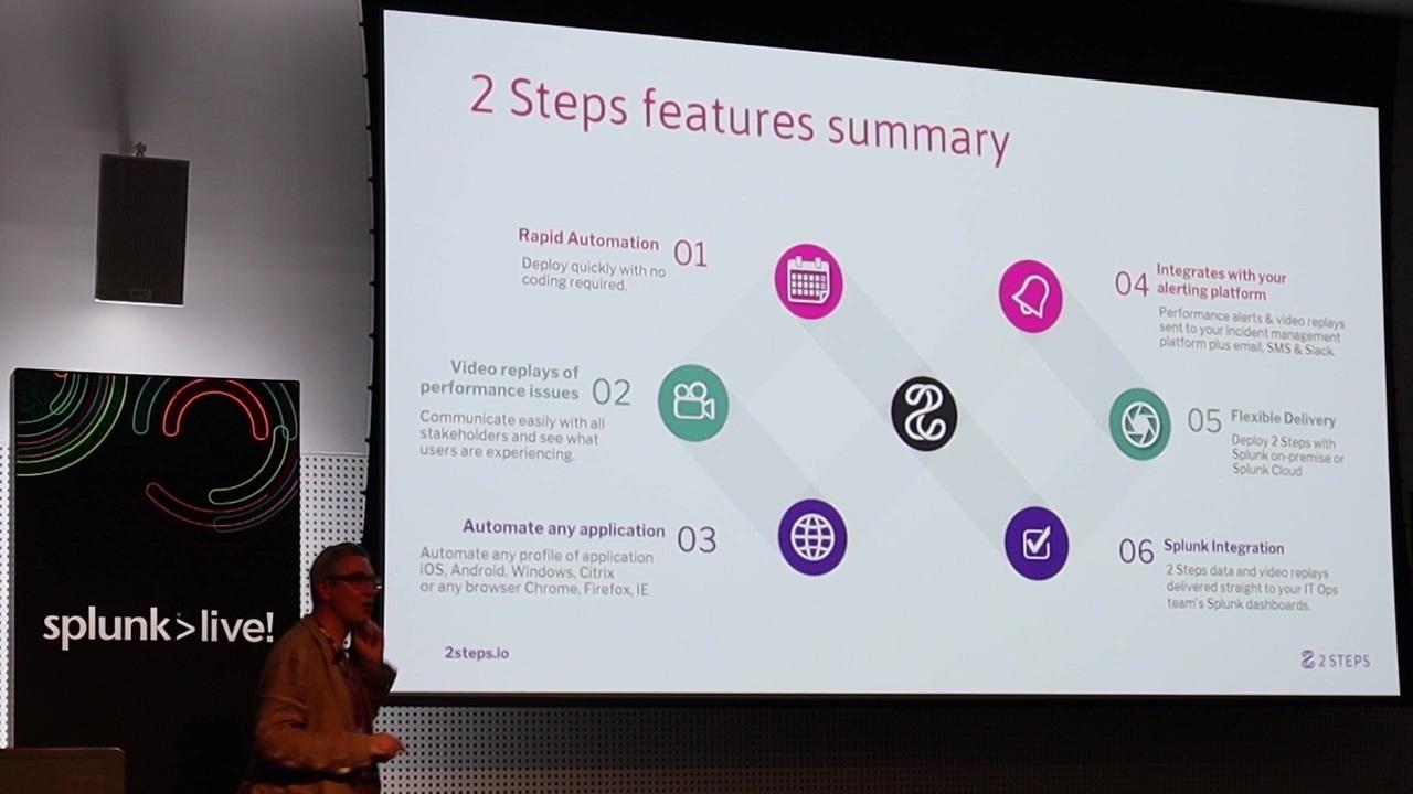 2 Steps Presentation at Splunklive Melbourne 2019 - Mono-thumb